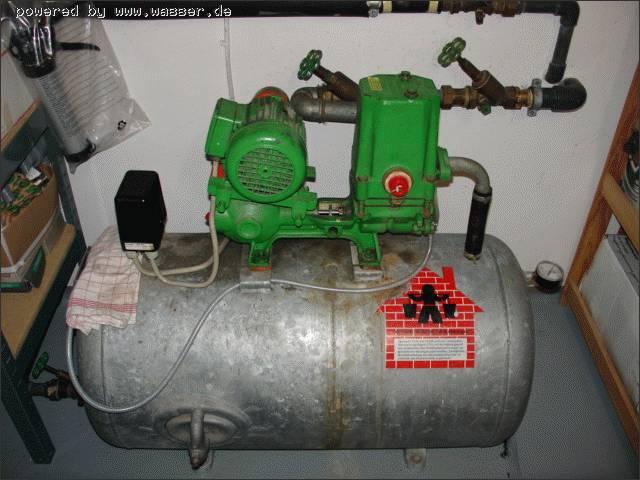 Wasserknecht Pumpe springt immer an und aus / Wasserforum - Das ...