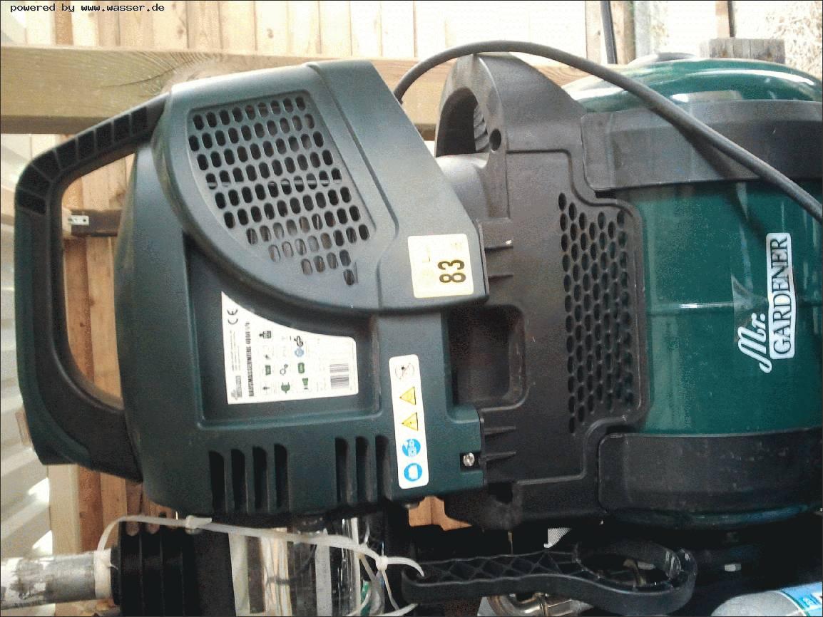 Favorit Hauswasserwerk Druckschalter einstellen Mr.Gardener / Wasserforum MK98