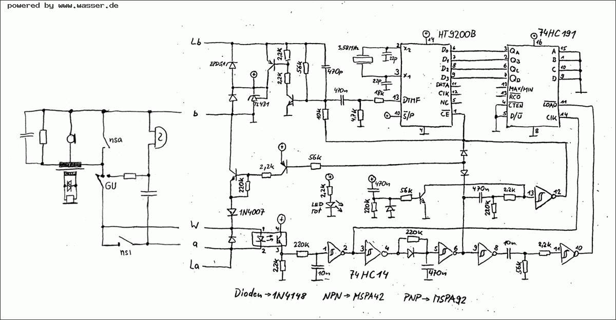 Ungewöhnlich Zeichnung Telefon Schaltplan Zeitgenössisch ...