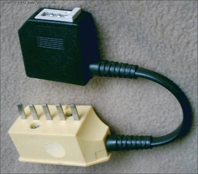 Adapter TAE-DDR bzw. TAE-Österreich / Telefon Forum für Historische ...