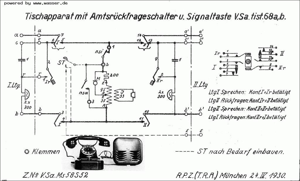 Tolle Telefon Schaltpläne Ideen - Elektrische ...