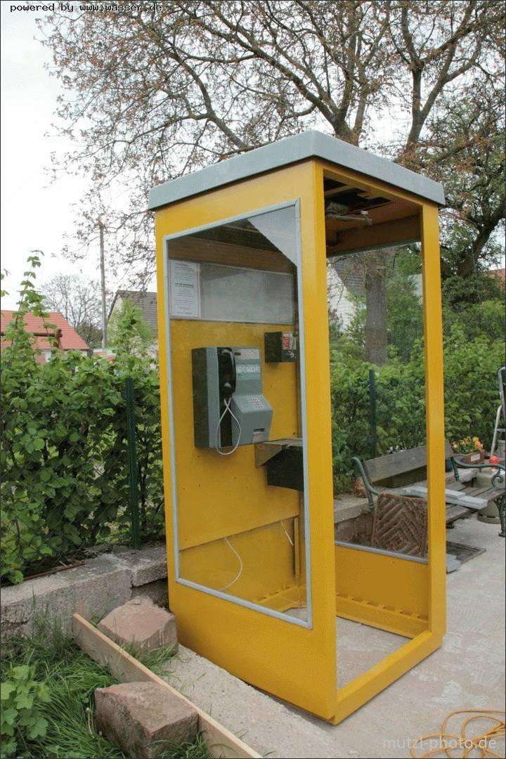 Telefonzelle im garten wer hat eine telefon forum f r for Garten 70er jahre