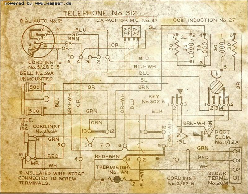 Altes GPO 312 Telephon an Eumex 400 TAE anschliessen / Telefon Forum ...