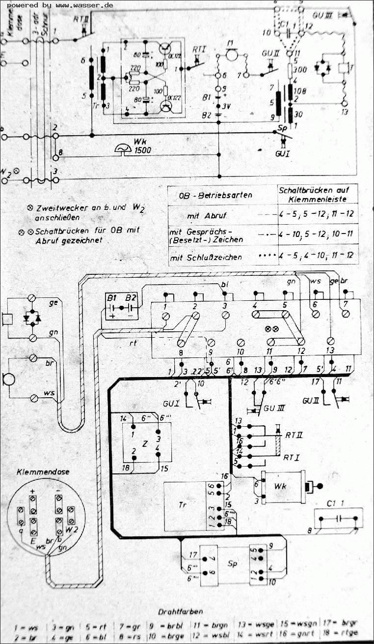 Großartig Alter Telefonschaltplan Galerie - Der Schaltplan ...