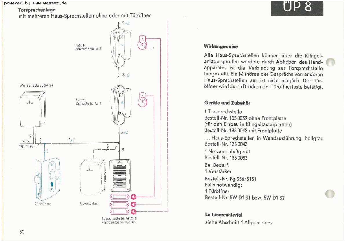 Siemens Türsprechhörer Wechseln / Telefon Forum für Historische ...