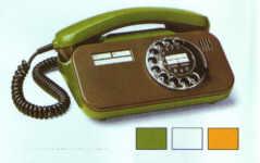 telefon lyon mit wählscheibe